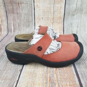 Keen Mary Jane Mules Size 9.5